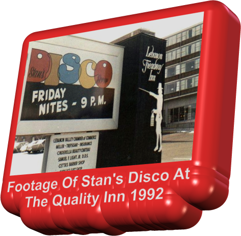 Footage Of Stan's Disco At The Quality Inn 1992
