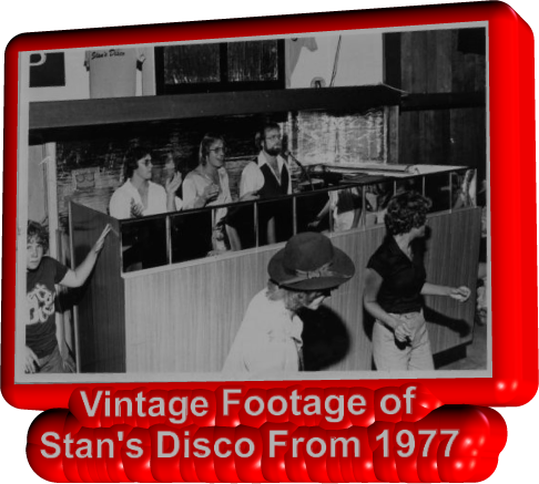 Vintage Footage of  Stan's Disco From 1977
